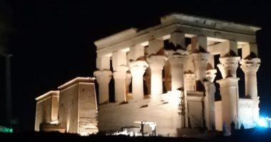 Photo of الصوت والضوء تعيد إضاءة جزيرة معبد فيلة