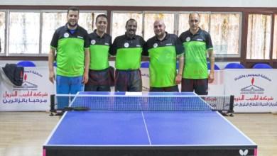 """Photo of فريق غاز مصر لتنس الطاوله يفوز على """"أنابيب البترول"""" ويتصدر المجموعة السادسة"""