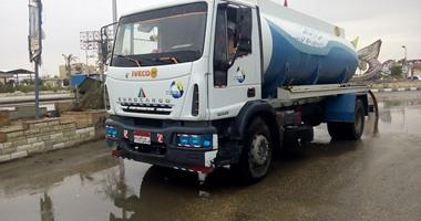 Photo of جهاز القاهرة الجديدة يدفع بـ15 سيارة شفط لشوارع المدينة لمواجهة الأمطار