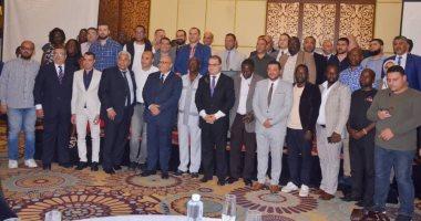 Photo of صور.. لقاءات ثنائية بين مصدرين مصريين وشركات أوغندية لزيادة الصادرات