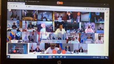 Photo of عاجل..ننفرد بأول صور حصرية لاجتماع أعضاء أوبك عبر الفيديو كونفرانس
