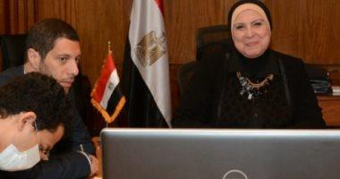 وزيرة الصناعة: 5 ملايين مستفيد من برنامج التنمية المحلية بصعيد مصر