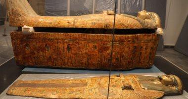 """الانتهاء من وضع مومياوات كهنة المعبود آمون بمتحف """"عواصم مصر"""" بالعاصمة الإدارية"""