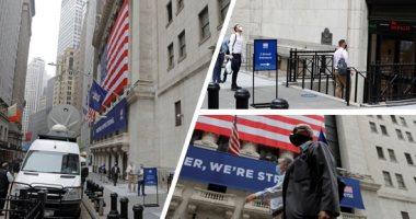 """الولايات المتحدة تسير عكس بوصلة """"بورصة نيويورك"""".. الأسهم الأمريكية تحقق مستويات قياسية رغم أحداث عنف الكونجرس.. وخبير في سوق المال: الارتفاع الكبير لأسهم التكنولوجيا وبرنامج تحفيز الاقتصاد الأمريكى وراء الصعود"""