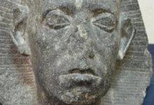 احتفالا بعيد الشرطة.. رأس الملك سنوسرت الثالث قطعة الشهر بالمتحف المصرى