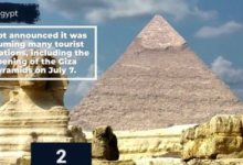 موقعان عالميان يختاران مصر من الوجهات السياحية التي يمكن السفر إليها الآن