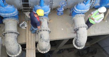 رئيس الشركة القابضة للمياه يبحث توطين صناعة مكونات المحطات مع شركة المجرية