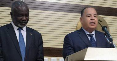 """""""المالية"""": جهد أكبر للجنة المصرية السودانية المشتركة لإزالة أى معوقات جمركية"""