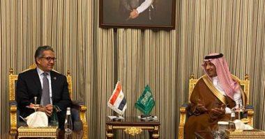 وزير الآثار يلتقى الأمير سلطان بن سلمان لتعزيز سبل التعاون فى مجال السياحة