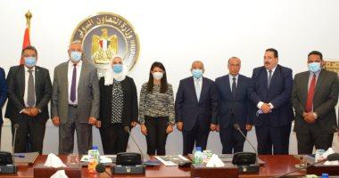المشاط ومجموعة من الوزراء يبحثون دعم جهود الدولة للاستثمار فى رأس المال البشرى