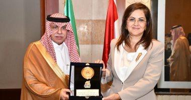وزيرة التخطيط تلتقي وزير التجارة السعودي ووفد من رجال الأعمال