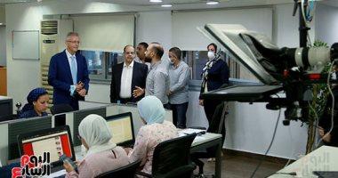 """الرئيس التنفيذى لجى بى غبور أوتو فى زيارة لـ""""اليوم السابع"""".. صور"""