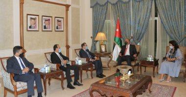 رئيس الوزراء الأردني يستقبل وزراء الطّاقة لدول مصر وسوريا ولبنان