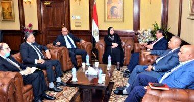 الصناعة والتجارة: تنظيم معارض متنقلة للمنتجات المصرية فى المحافظات العراقية