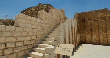 كل ما تريد معرفته عن المقبرة الجنوبية للملك زوسر بسقارة بعد ترميمها