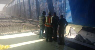 """رئيس جهاز """"6 أكتوبر"""" يتابع سير العمل بالمشروعات الجارية وأعمال المونوريل بالمدينة"""