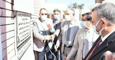 تشغيل مشروع الصرف الصحى بقرية السعدية لخدمة مئات الآلاف من المواطنين بالشرقية