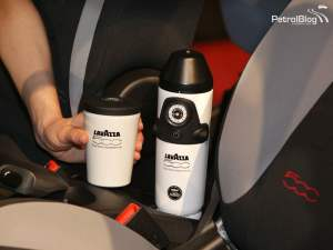 Lavazza 500 Espresso Experience - Fiat 500 coffee machine