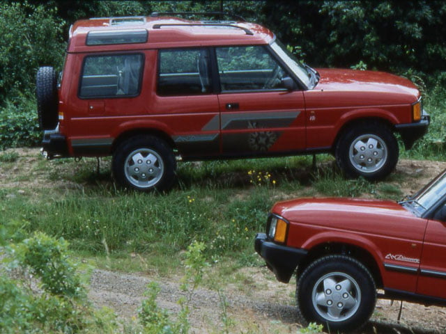 3-door Land Rover Discovery V8