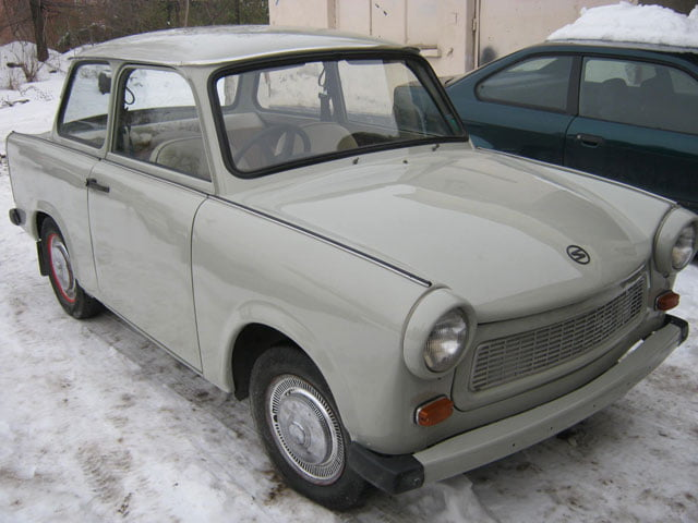 Right-hand drive Trabant 601