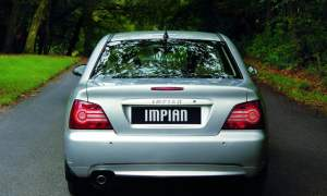 Old FART: rear of Proton Impian