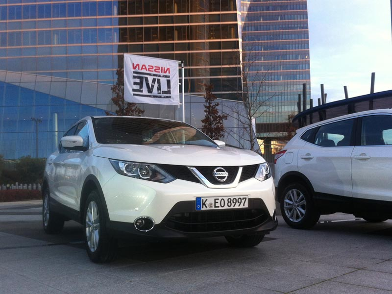 White 2014 Nissan Qashqai in Madrid