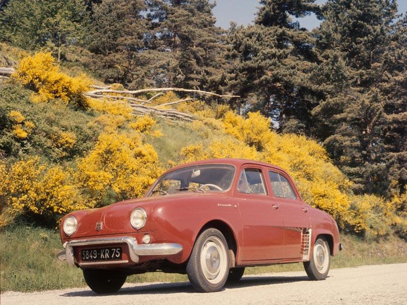 Rear-wheel drive Renaults - Dauphine