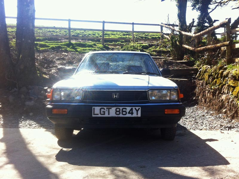 1982 Honda Accord silver