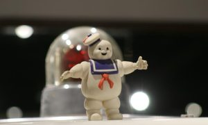 Stay Puft Man at Haynes International Motor Museum