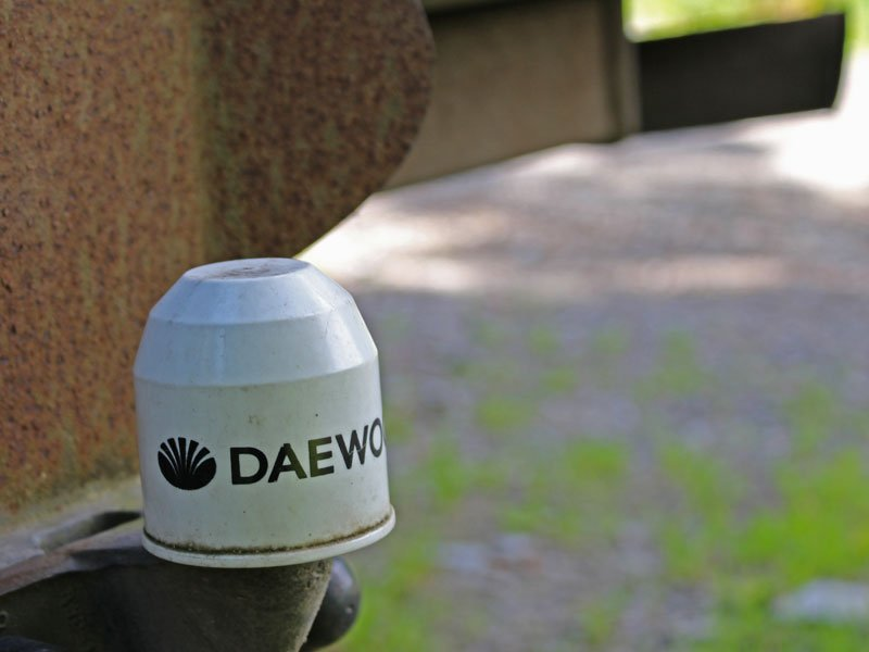 Daewoo Musso 2.9 TD tow ball cover