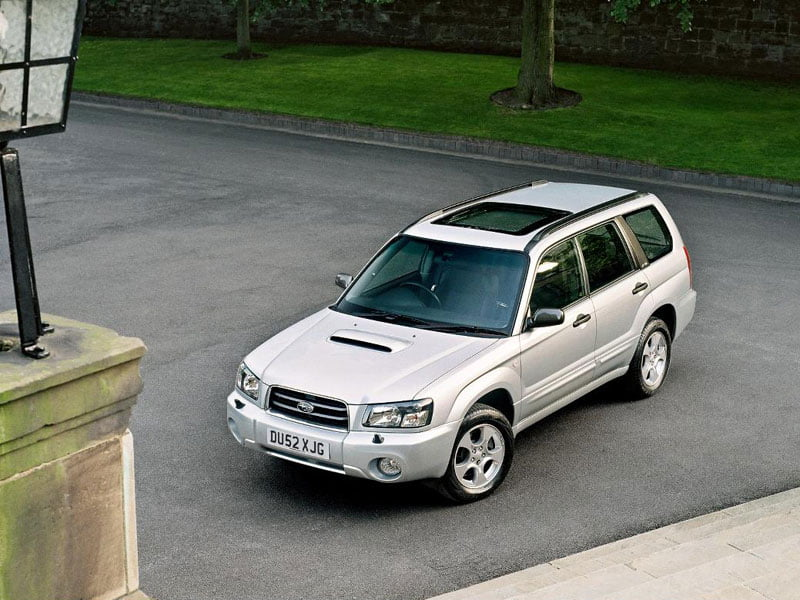 Dream Shed Subaru Forester XT