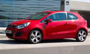Kia Rio 5-spoke alloy wheels