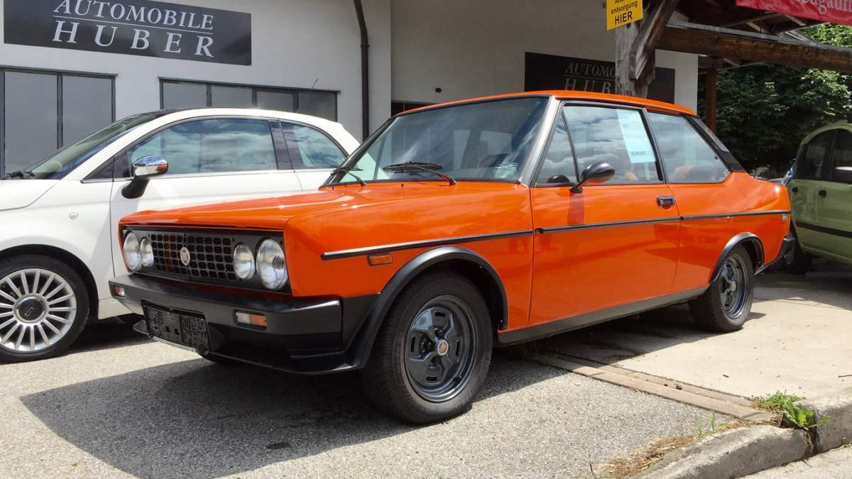 Orange crush: Fiat 131 Racing