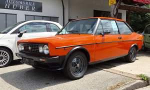 Orange Fiat 131 Racing