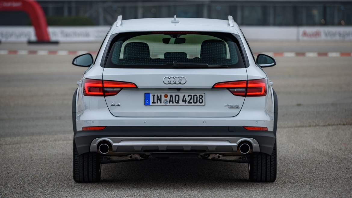 2016 Audi A4 allroad rear