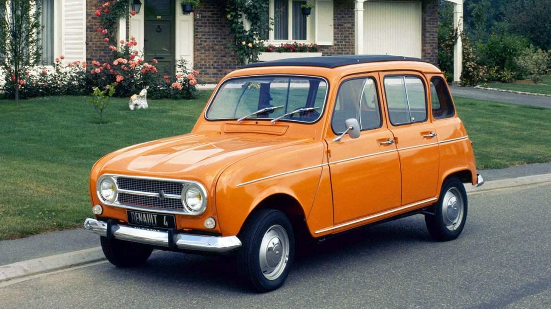 Orange Renault 4