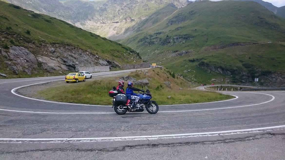 Bends on the Transfagarasan Highway
