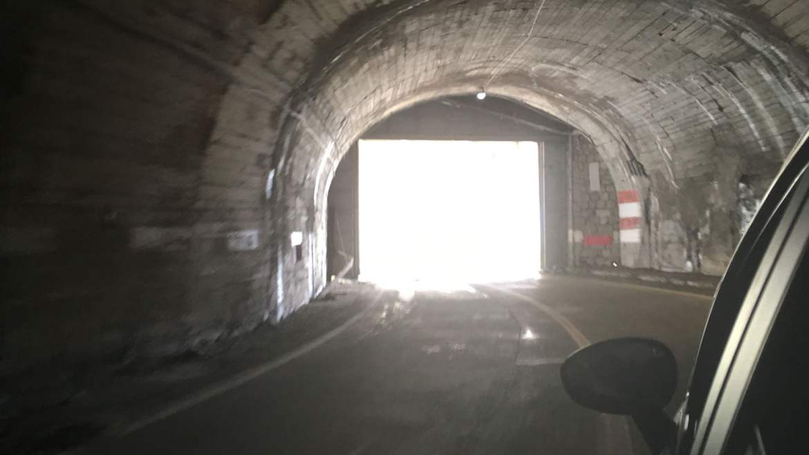 Tunnels on the Transfagarasan Highway
