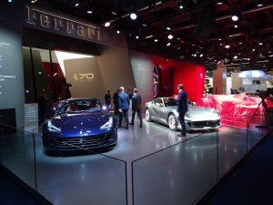 Ferrari at the Frankfurt Motorshow 2017