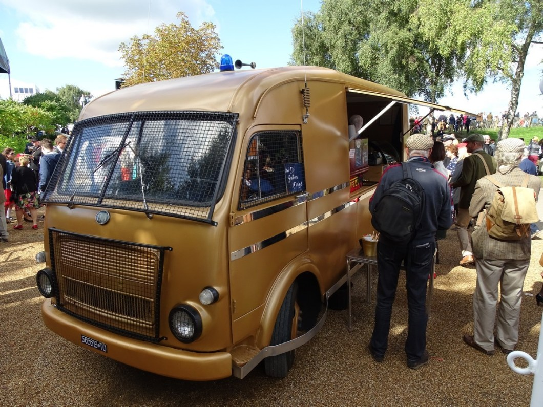 Classic Bullion Truck at the Goodwood Revival 2017