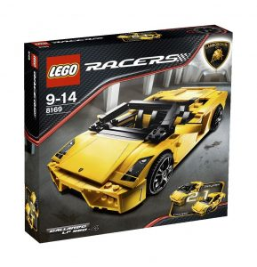 Lego car Lamborghini Gallardo