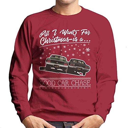 Car Christmas jumper