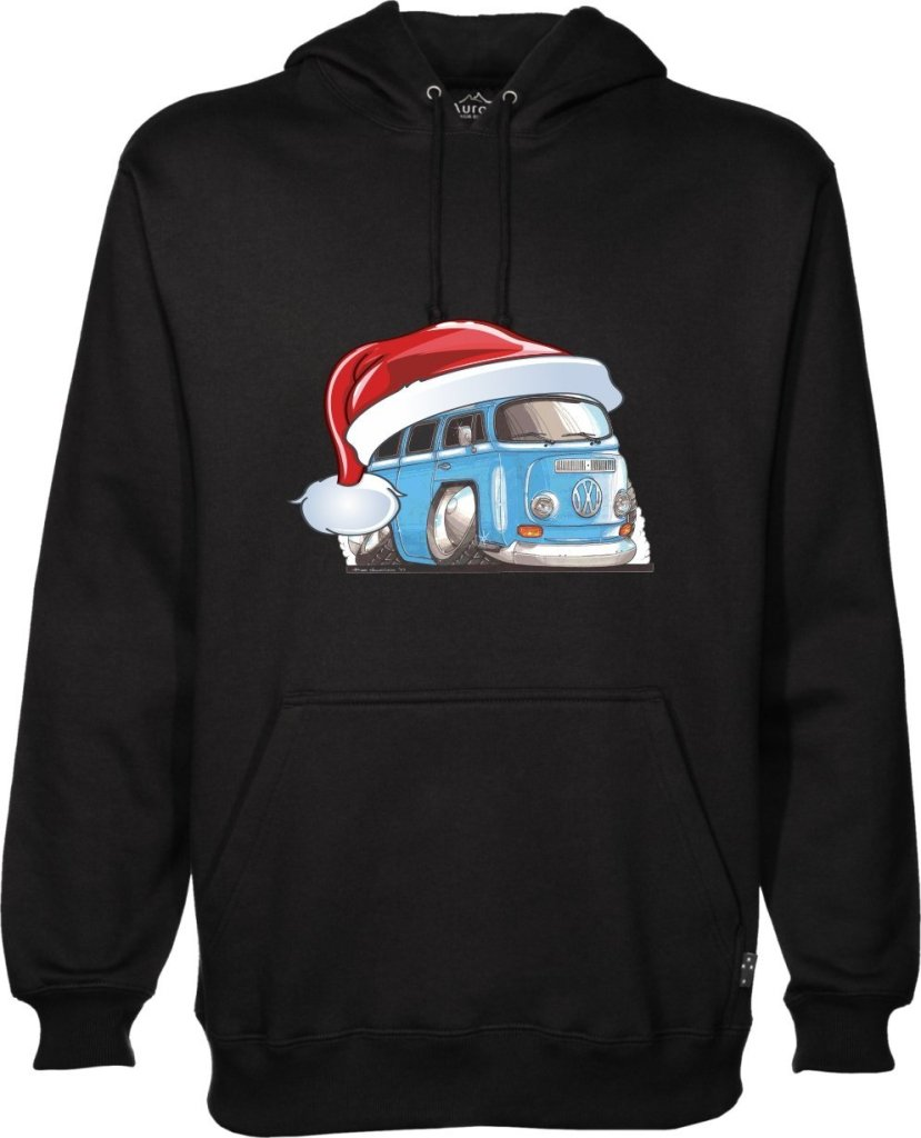 VW Camper Santa Christmas jumper