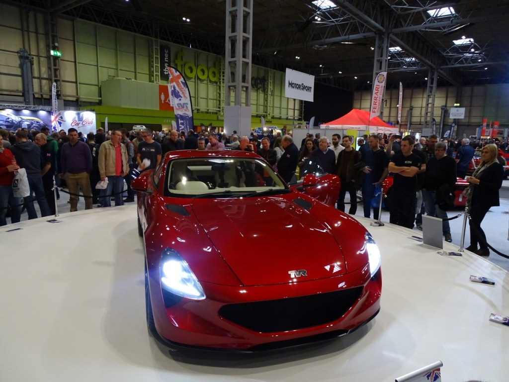 New TVR Griffith NEC Classic Car Show 2017