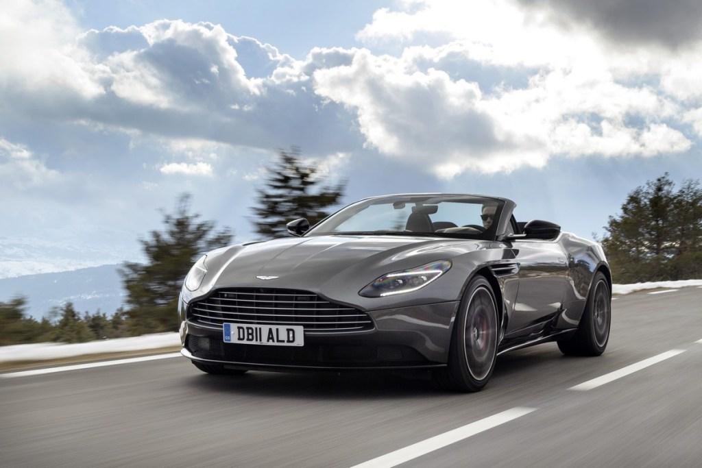 Aston Martin at the Geneva Motorshow 2018