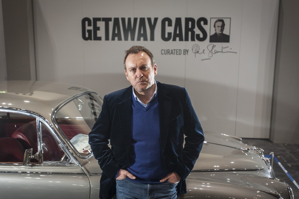 Philip Glenister curated the Getaway Cars feature at The London Classic Car Show 2018