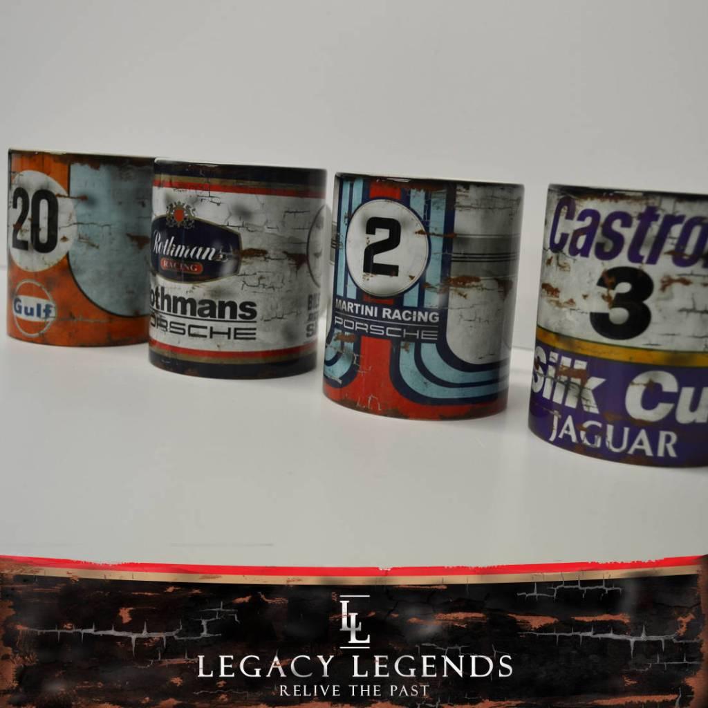 Racing Retro Vintage Mugs