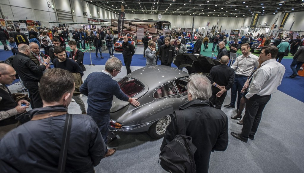 Record crowds at The London Classic Car Show 2018