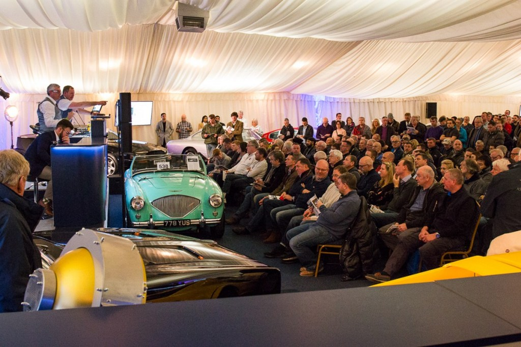 Silverstone Auctions Race Retro 2018