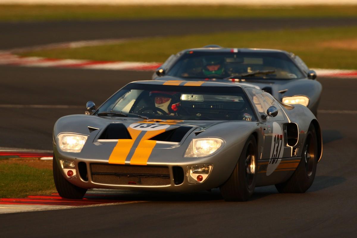 Silverstone Classic Daytona at Dusk
